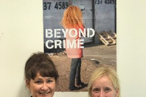 Dawn Bargate and Rachael Reeves of victim support