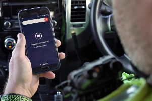 The emergency services are encouraging the use of the hand-held app