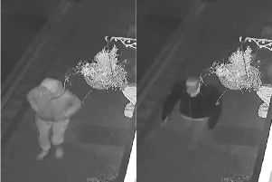 Police would like to speak to these two individuals. PIC: North Yorkshire Police