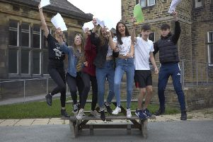 Pupils will be picking up their GCSE results today