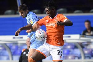Blackpool suffered their first defeat of the season at Coventry City last weekend