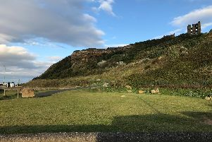 Scarborough Castle would be a near neighbour !