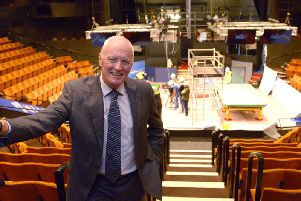 Barry Hearn at the Crucible