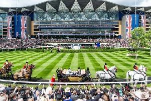 Royal Ascot, scene of the greatest Flat meeting in the world.