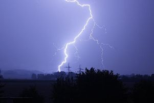 The Met Office has issued a thunderstorm warning for Friday.