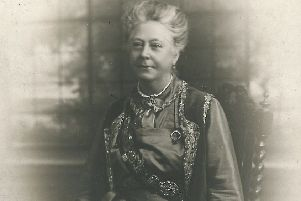 Lady Isabella Battie-Wrightson - owner of Cusworth Hall and fundraiser