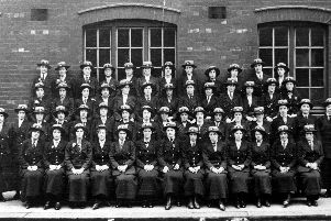 World War One telegram girls at Sheffield Post Office on Pond Street. Picture courtesy of Picture Sheffield