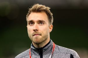 Tottenham playmaker Christian Eriksen, who is reportedly wanted by Real Madrid.