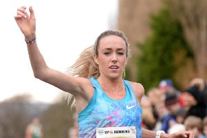 Eilish McColgan took second place in the 2018 Percy Pud race. Picture: Marie Caley