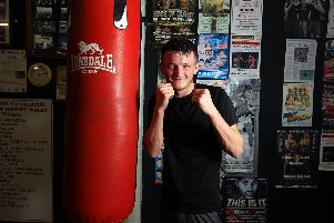 Boxer Tom Bell. Picture: Chris Etchells
