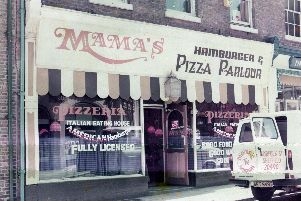 The restaurant before Leonie's was added to the name