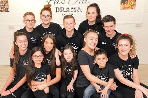 Pupils from Lets Act Drama School, in Bentley, pictured. Picture: Marie Caley NDFP-11-11-18-LetsAct-1