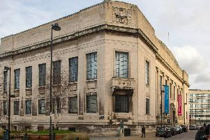 Sheffield central library