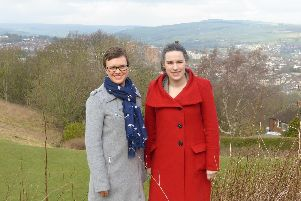 Liberal Democrats Laura Gordon and Hannah Kitching are demanding action to save Bradfield sixth form
