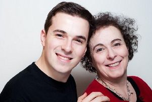 Jack Ritchie, with his mother Liz.