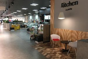 Debenhams Kitchen is totally re-furbished