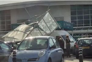 A man has been bailed after a collision on Asda's car park in Handsworth, Sheffield