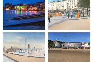 These images show how Bridlington and Scarborough could look in the future.