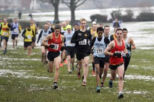 Sheffield Open Cross Country Championships held at Graves Park in Sheffield in January
