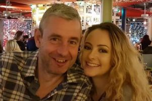 Mark Hague, pictured with his daughter Molly.