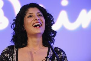 Shappi Khorsandi is live at Lincoln Performing Arts Centre this week. Photo by Ian Gavan/Getty Images