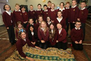 Year 6 pupils at Mundella Primary School held a sleep out at the school to raise money for the Archer Project.