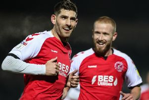 Ched Evans and Paddy Madden