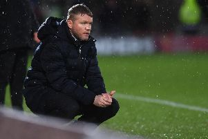 Emirates FA Cup fourth round.'Doncaster Rovers v Oldham Athletic.'Doncaster's manager Grant McCann.'26th January 2019.'Picture Jonathan Gawthorpe'
