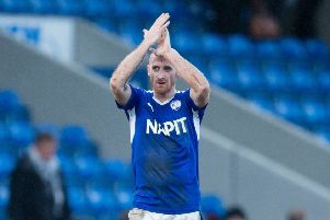 Chesterfield vs Crewe Alexandra - Drew Talbot at full time - Pic By James Williamson