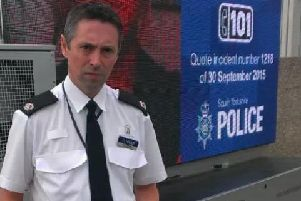 Supt Neil Thomas of South Yorkshire Police