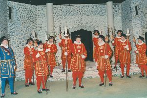 The Dore Gilbert and Sullivan Society production of The Yeomen of the Guard in 1996