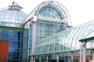 Trains to Meadowhall are disrupted this morning
