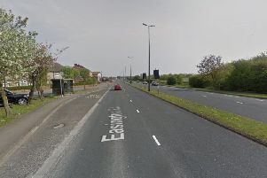 Resurfacing work will be carried out on part of the southbound section of Easington Road (heading towards the town centre) between Warren Road and the Holdforth Road roundabout. Picture: Google.