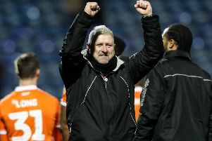 Blackpool boss Terry McPhillips has every confidence they would beat the drop from League One in the event of a points deduction