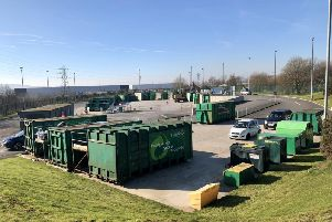 Burnley's household waste recycling centre