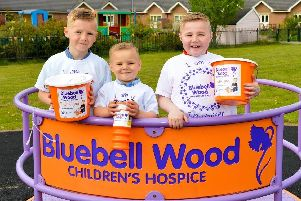 Bluebell Wood Children's Hospice fundraising.