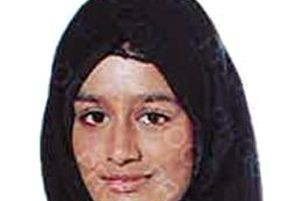 """Shamima Begum, who fears her baby will be taken away from her as her family pleaded for the teenager to be allowed back to the UK """"as a matter of urgency""""."""