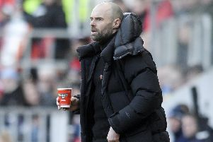 Rotherham boss Paul Warne warms up with a cuppa