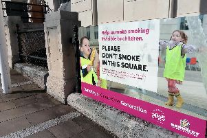 Clean air: Barnsley Council asks visitors not to smoke in public locations, including the town hall area