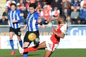 Fernando Forestieri was sent off against Rotherham United