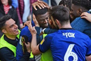 Dominic Iorfa scored a late equaliser at Sheffield Wednesday