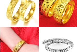 Police said some of the jewellery is similar to the items shown in these pictures.