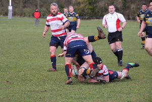 Morpeth double up to stop Ralph Johnston