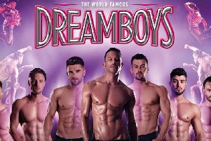 The Dreamboys will be in Buxton in October