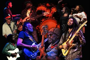 The Wailers are playing at Manchester Arena