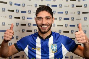 Achraf Lazaar could make his Sheffield Wednesday debut on Saturday
