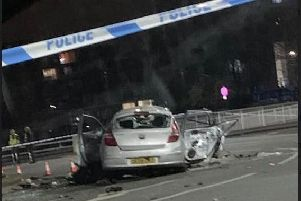A police probe into a collision in Sheffield is continuing this afternoon