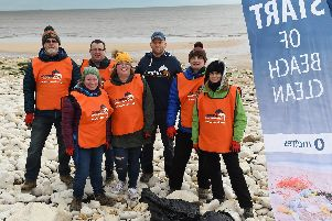 Beach cleans are being held up and down the Yorkshire coast all year.