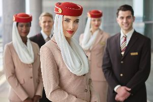 Emirates recruits its Dubai-based cabin crew from all over the world.