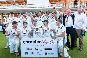 Folkton & Flixton won the National Village Cup in 2018